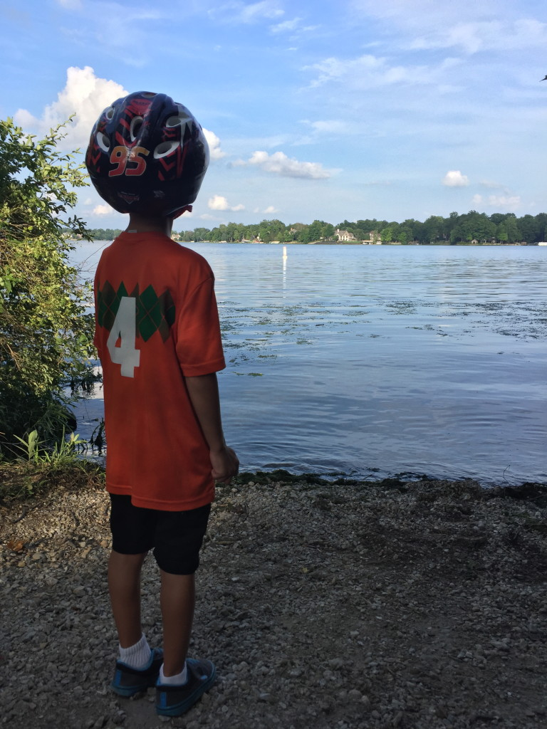 Lake Biker