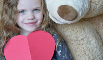 Making My Princess a Queen For the Day: 5 Valentine's Day Activities For Kids