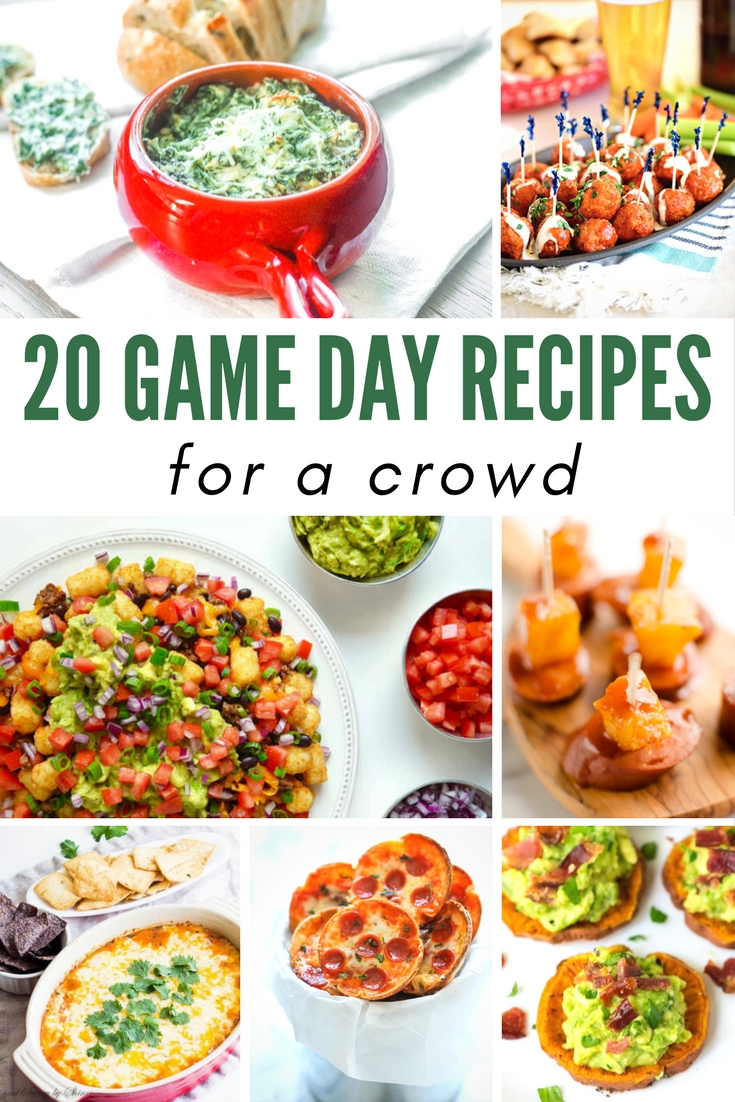Game Day Food Recipes