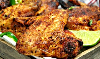Air Fryer Chicken Wings-Dry Rub Recipe