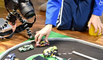 How to Make a Stop Motion NASCAR Race