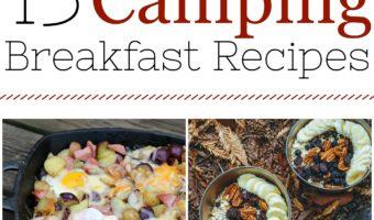 15 Easy Camping Breakfast Ideas