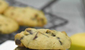 Banana Chocolate Chip Cookies