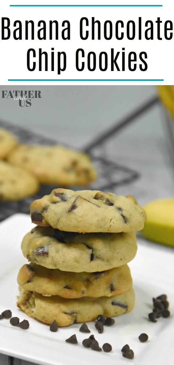 Banana Chocolate Chip Cookie Pin