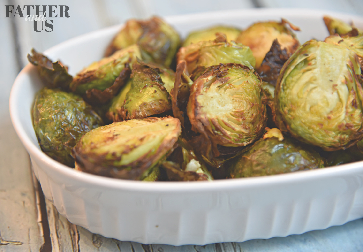 This is an extremely easy Air Fried Brussels Sprouts Recipe