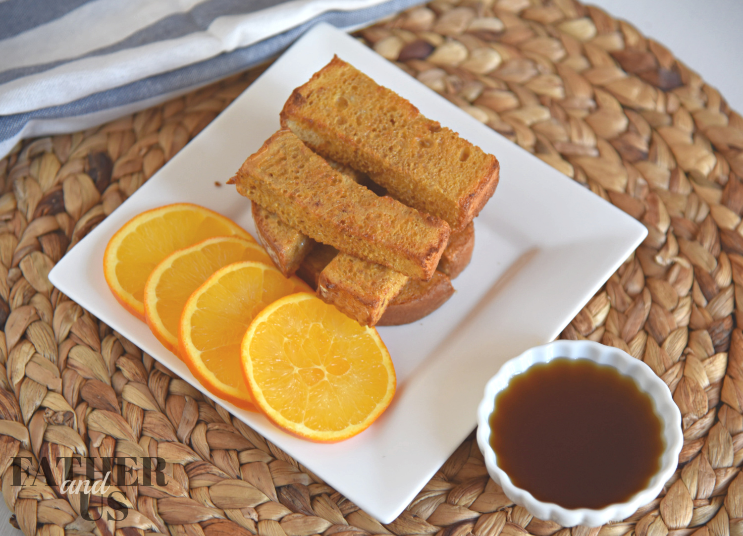 Air Fryer French Toast Recipe is one of my kid's new favorite breakfasts!