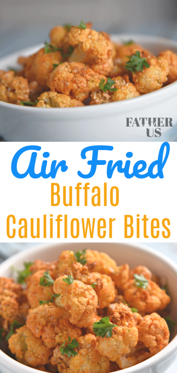 Cauliflower Buffalo Bites Pin