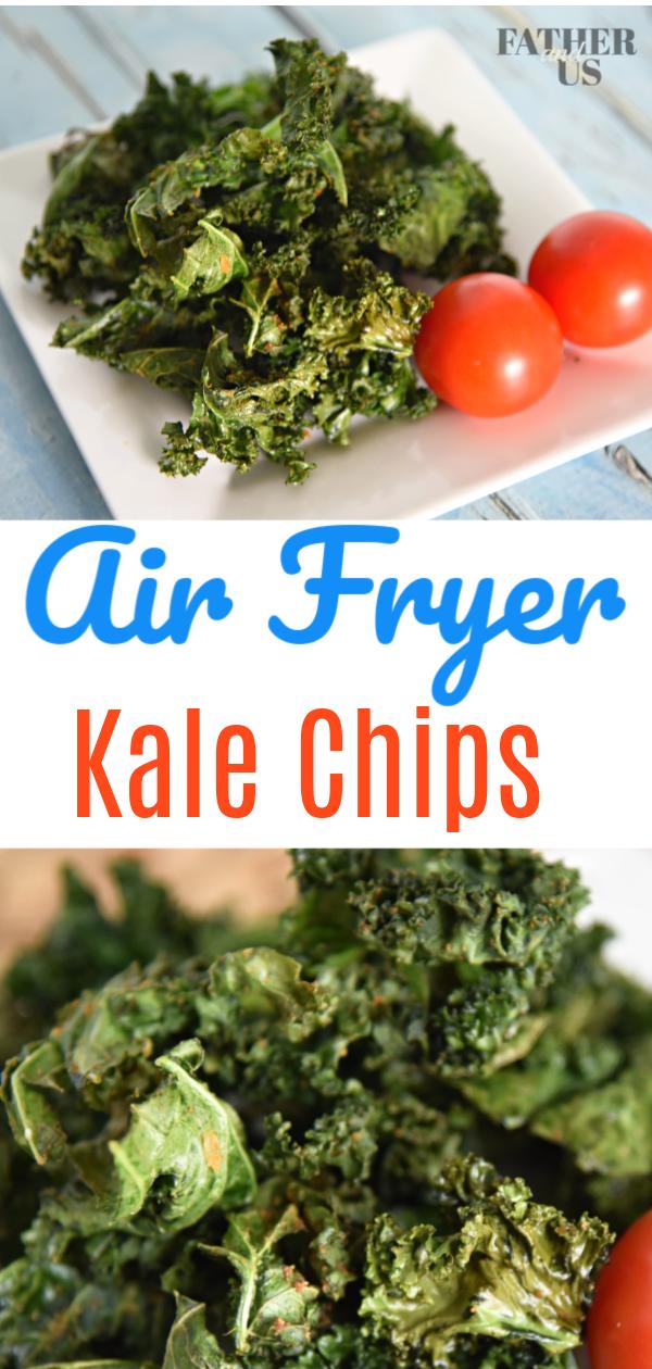 Air Fryer Kale Pin