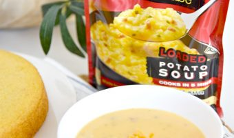 Comfort Made Easy With Idahoan® Steakhouse® Soups and Instant Pot Cornbread