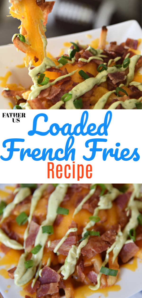 Loaded French Fries Pin