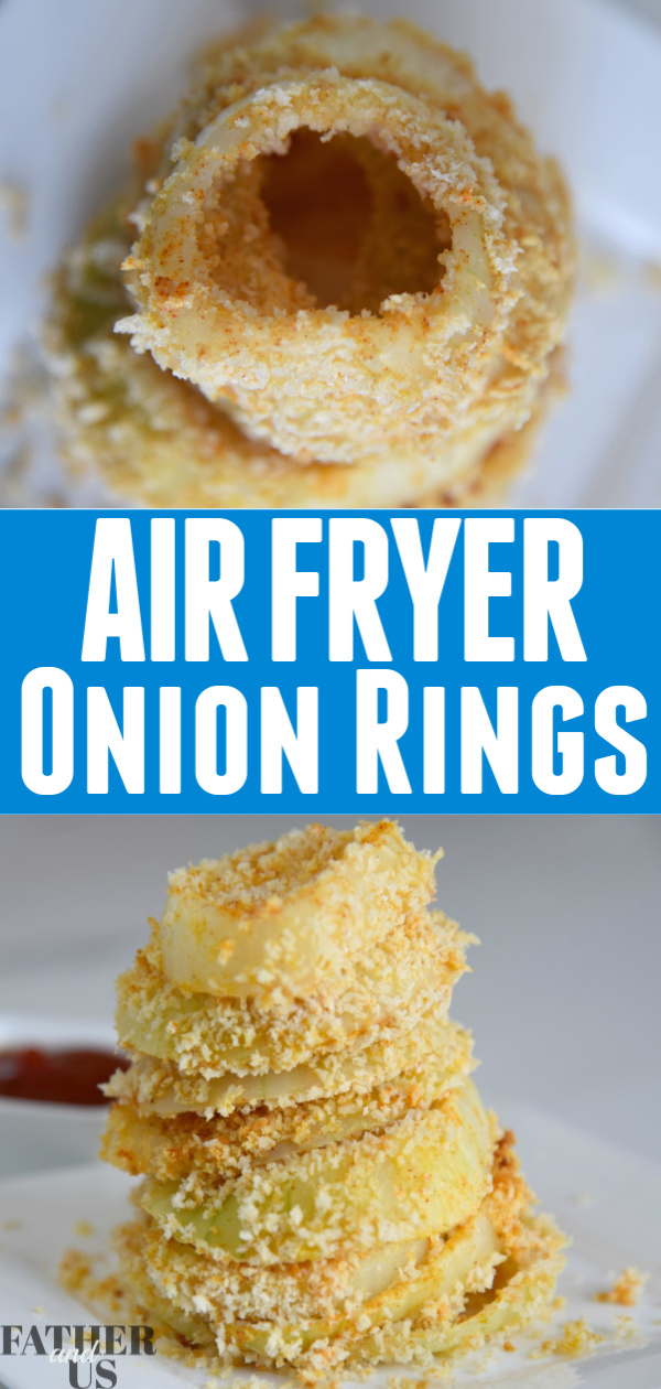 Air Fryer Onion Rings Pin 1