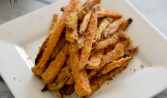 Panko Crusted Air Fryer Sweet Potato Fries