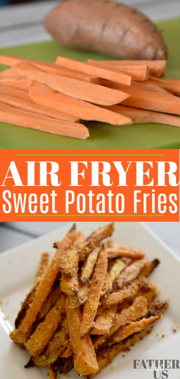 Air Fryer Sweet Potato Fries Pin 2