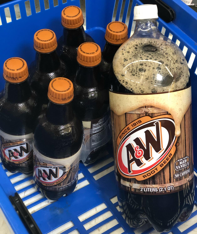 A&W Root Beer Walmart