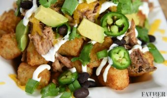 Loaded Pulled Pork Totchos Recipe