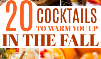 20 Fall Cocktail Recipes To Keep You Warm