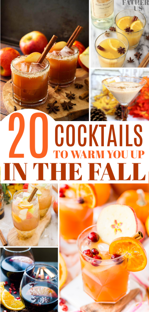 Fall Cocktail Recipes Pin