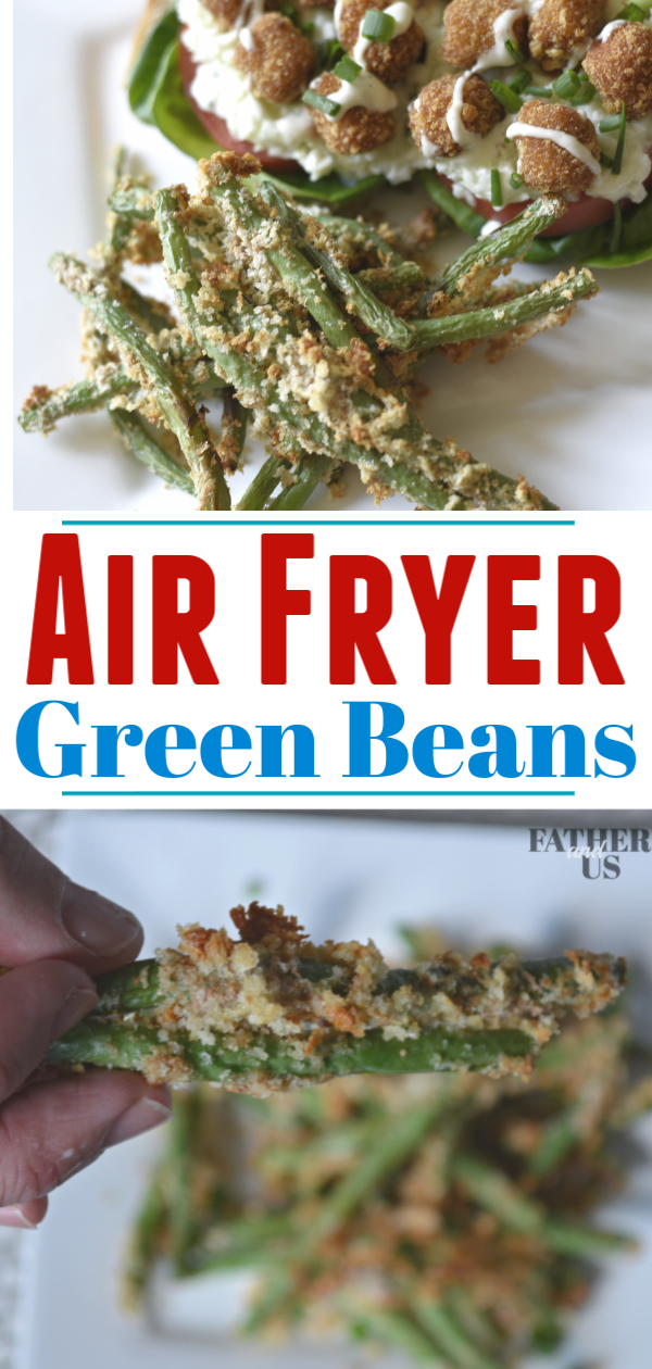 Air Fryer Green Beans Pin