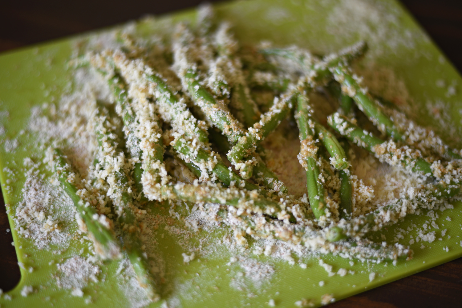 Air Fryer Green Beans Recipe