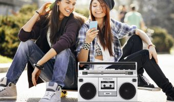 Retro Meets Modern with ION Boombox Deluxe Bluetooth Speaker