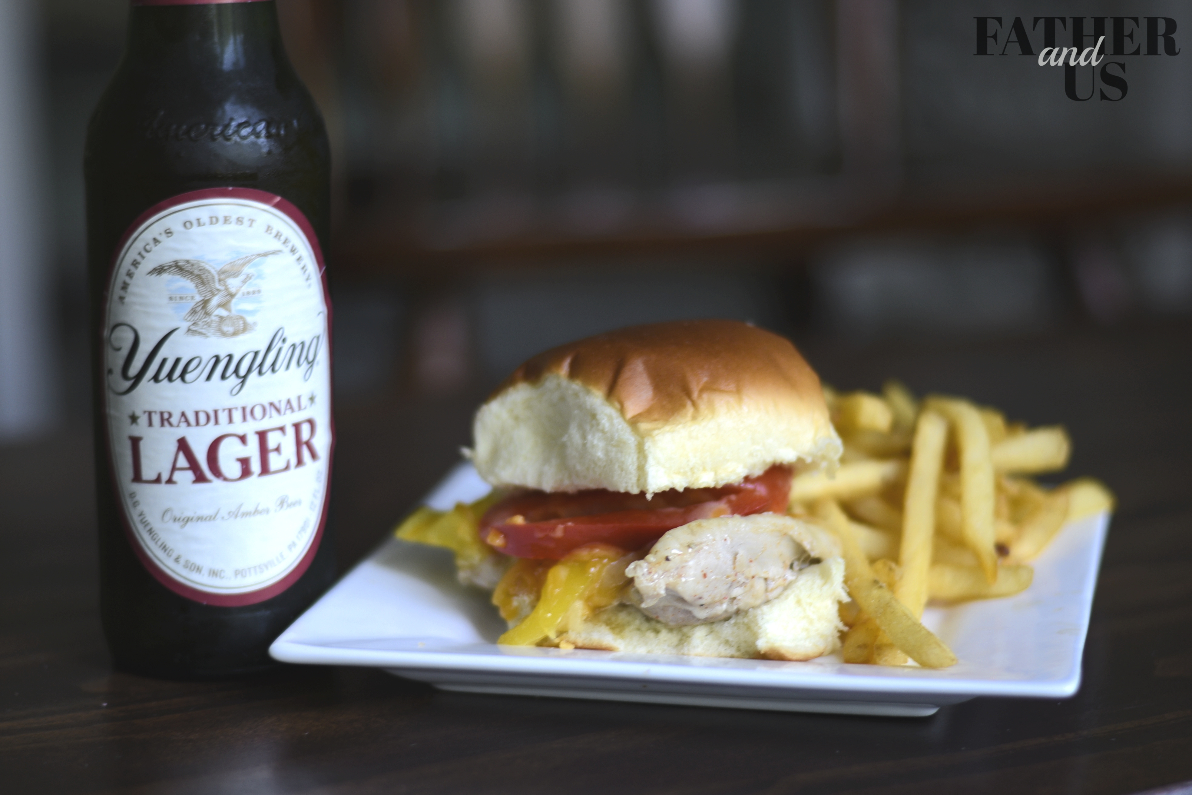 Foil Pack Chicken Sandwich with Garlic and Beer