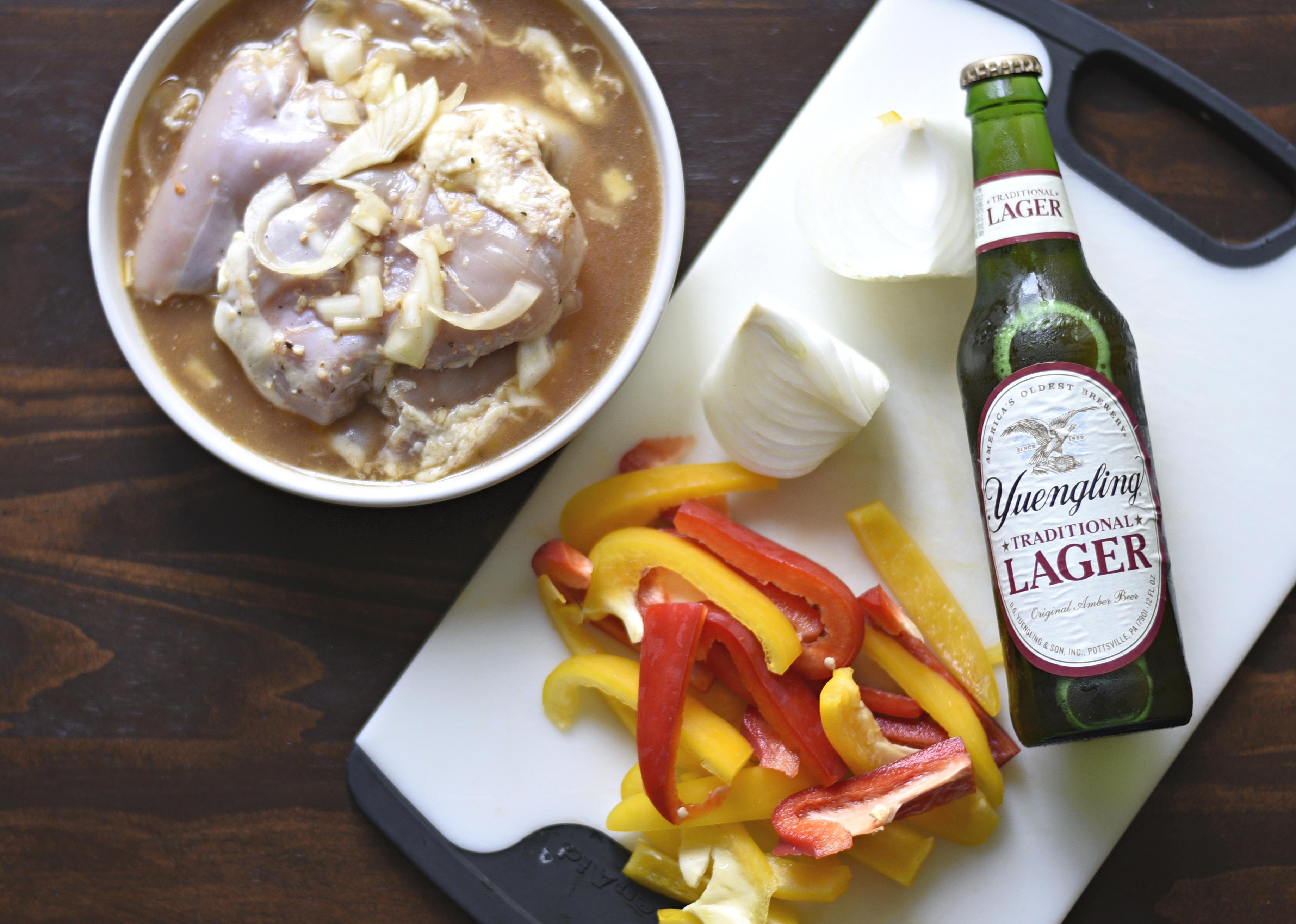 Garlic and Beer Marinade