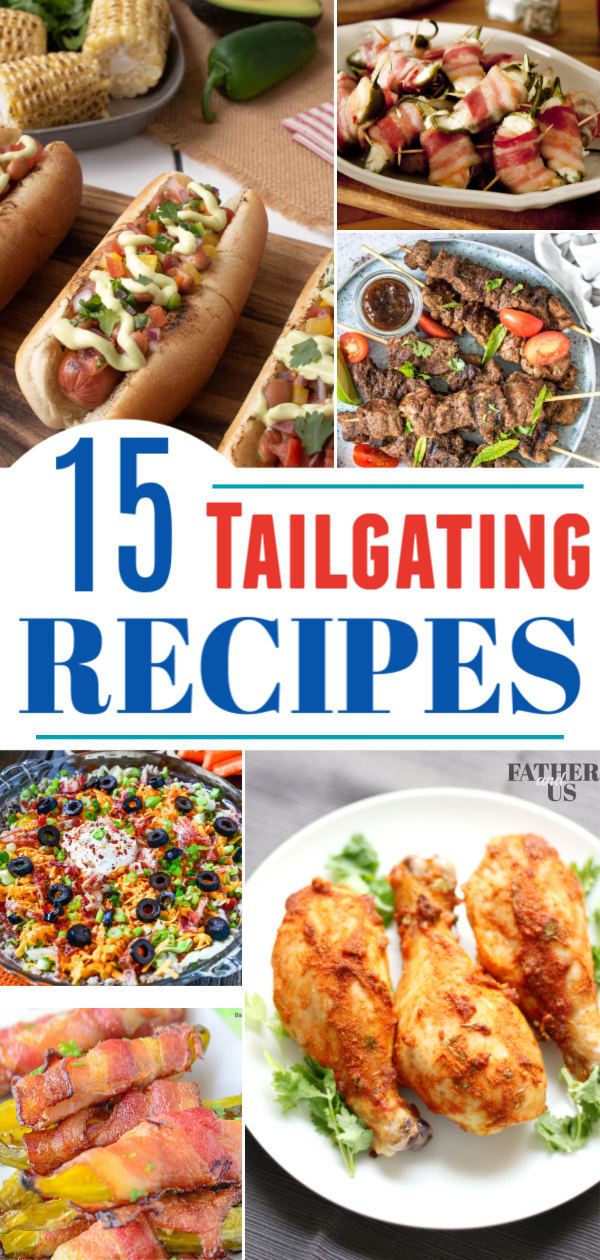 Tailgating Recipes Pin