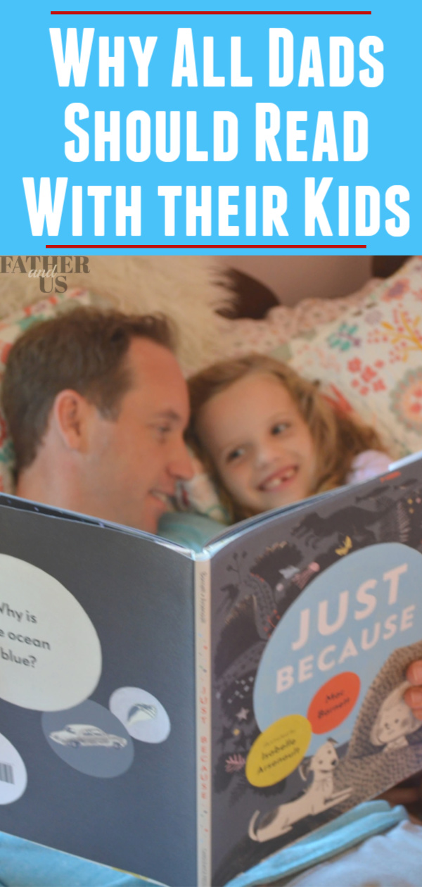 Reading with Dad Pin