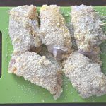coat cordon bleu with breadcrumbs