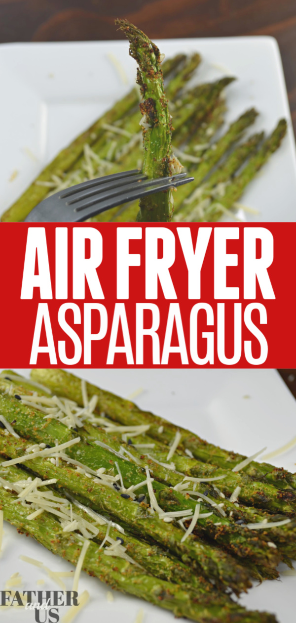 Air Fryer Asparagus Pin 1