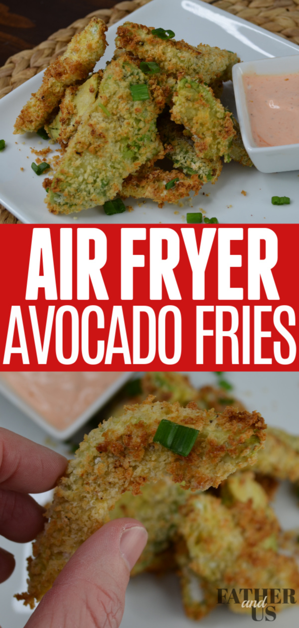 Air Fryer Avocado Fries Pin