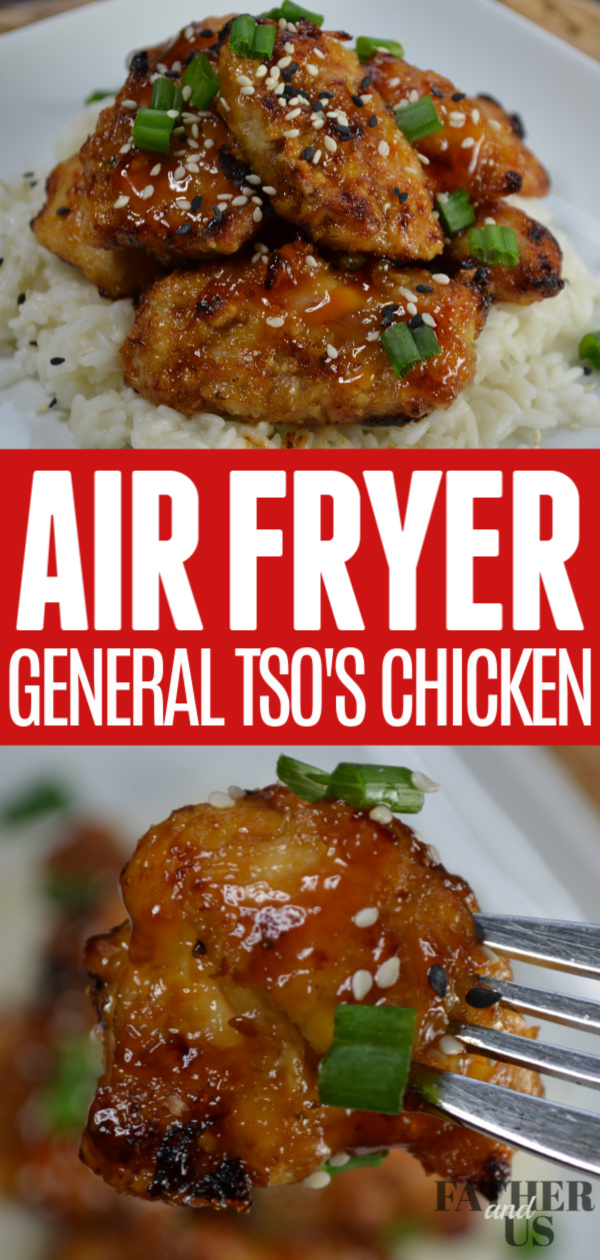 Air Fryer General Tsos Chicken Pin 1