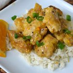 Air Fryer Orange Chicken