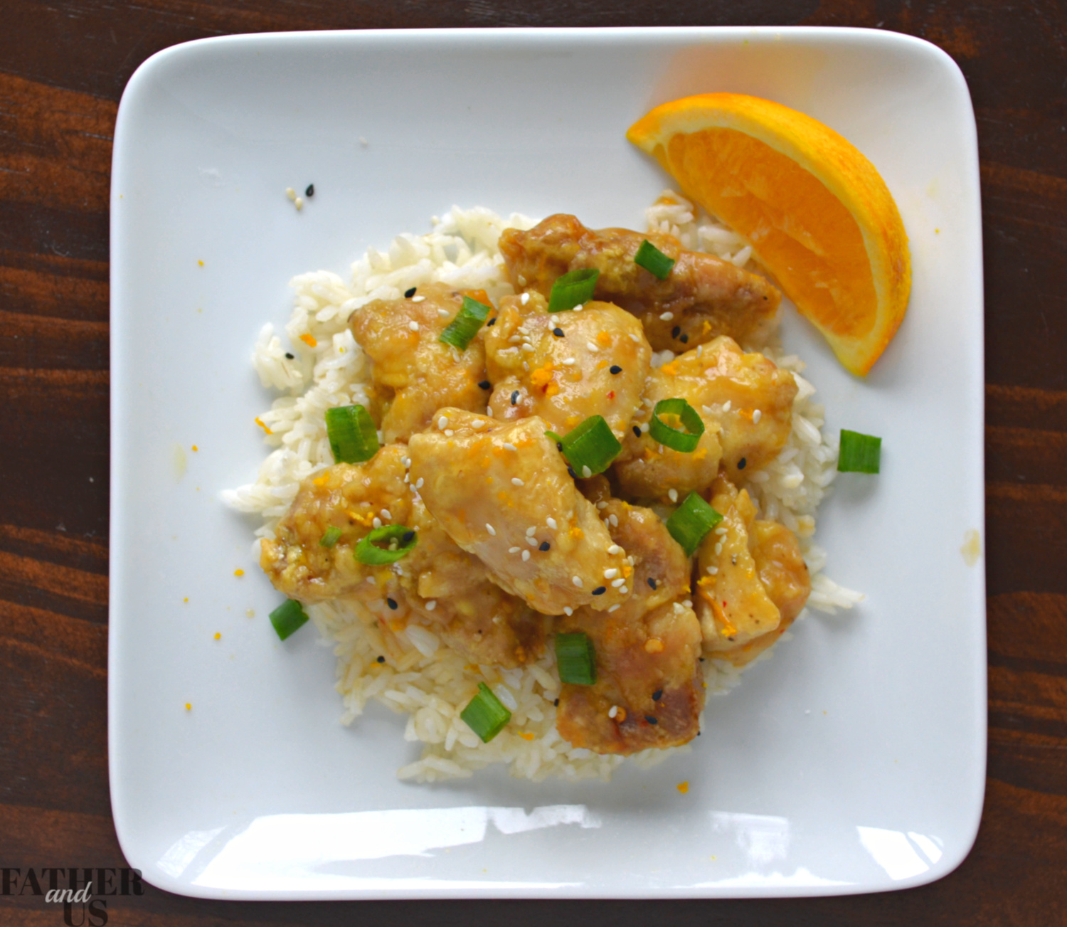Easy Air Fryer Orange Chicken is a healthy recipe for asian cuisine