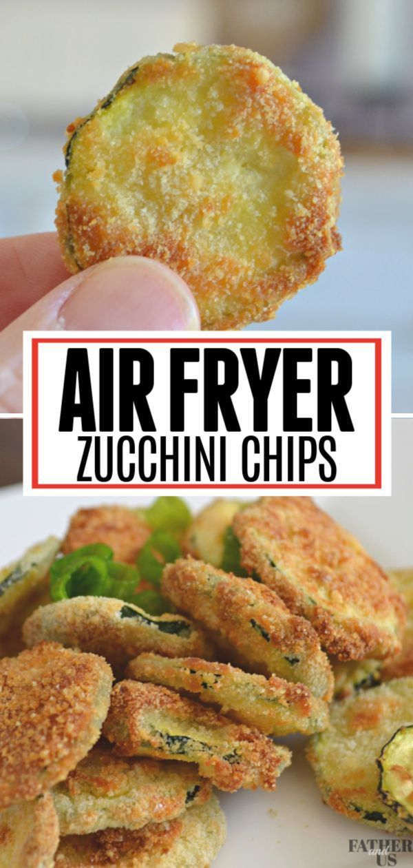 AIR FRYER ZUCCHINI CHIPS Pin 1