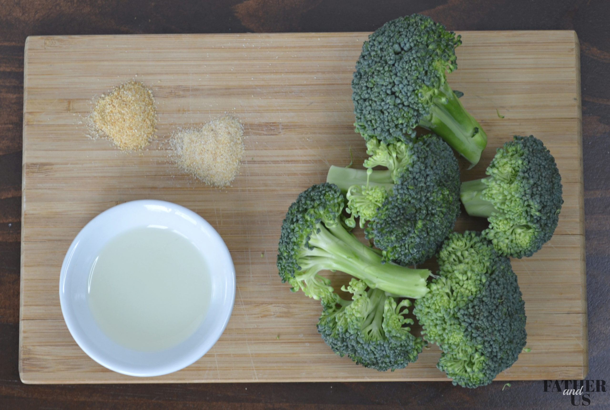 Air Fryer Broccoli Ingredients