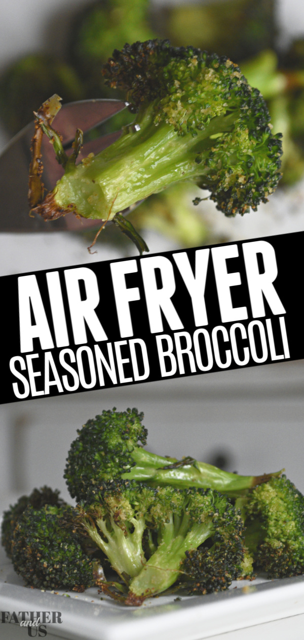 Air Fryer Broccoli Pin 1