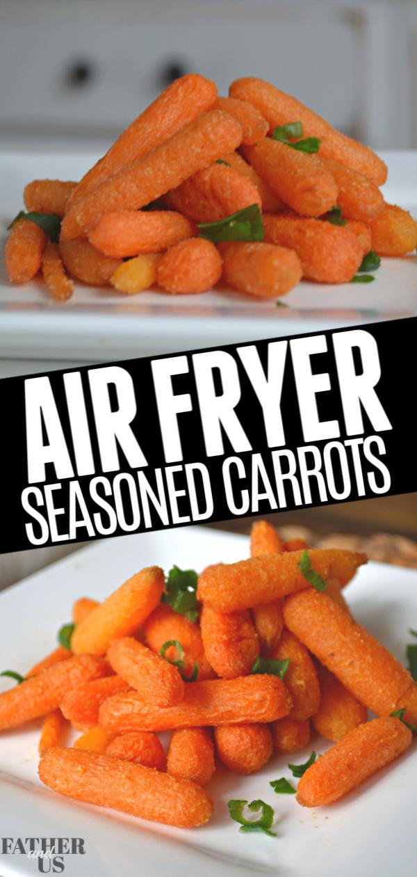 Air Fryer Carrots Pin 1