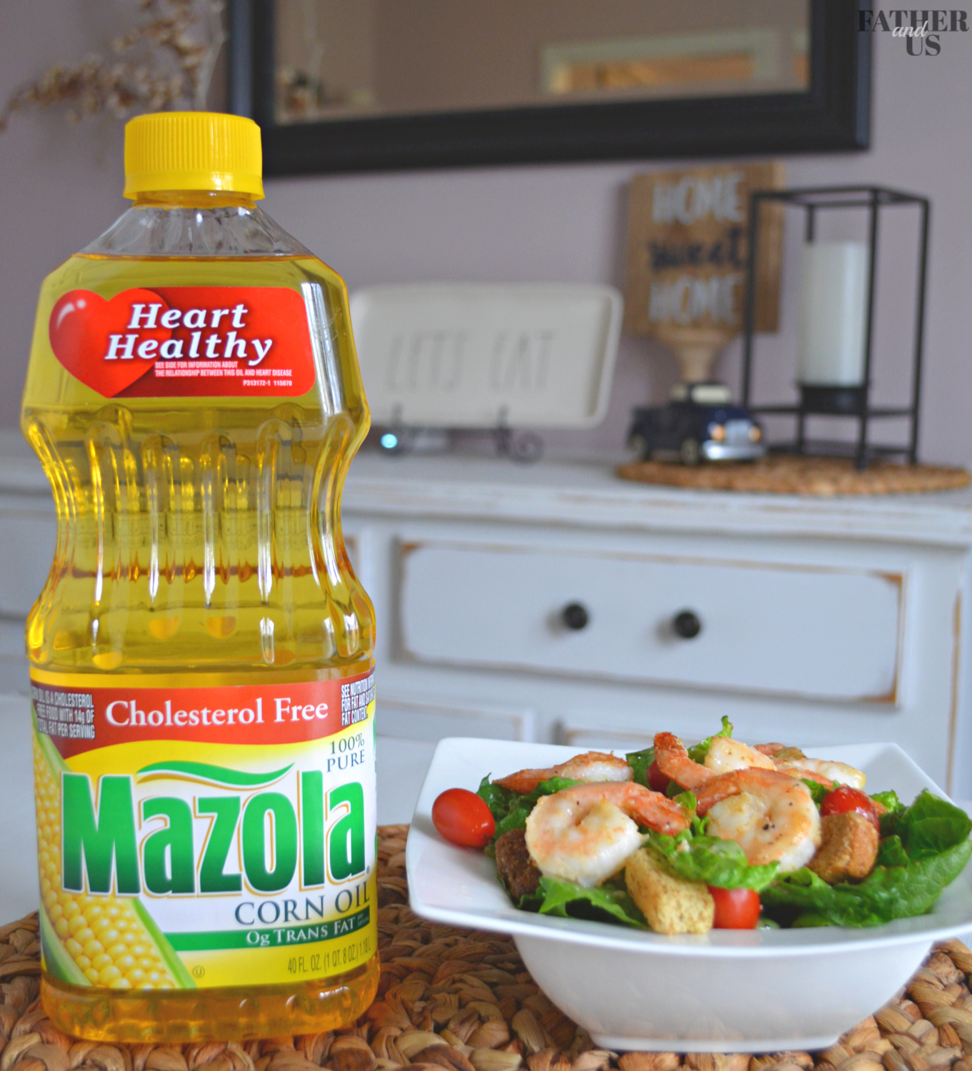 Air Fryer Shrimp Salad With Mazola