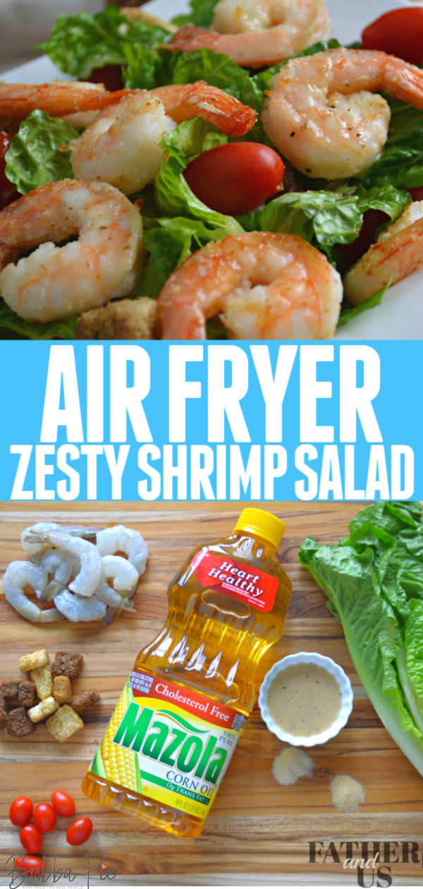 Air Fryer Zesty Shrimp Salad