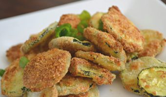 Easy Air Fryer Zucchini Chips