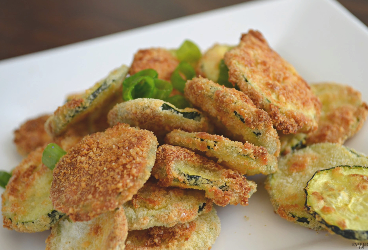 Air Fryer Zucchini Chips are a great healthy appetizer or snack