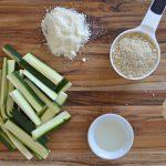 Air Fryer Zucchini Fries Ingredients