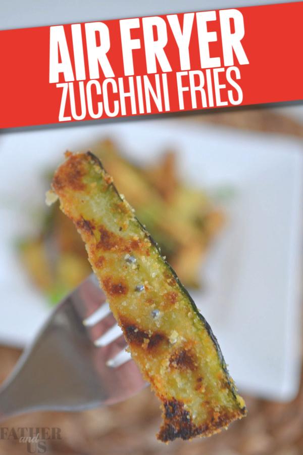Air Fryer Zucchini Fries Pin 2