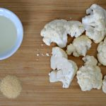 Air Fryer cauliflower ingredients