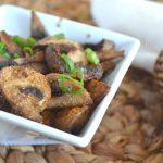 Healthy Air Fryer Mushrooms