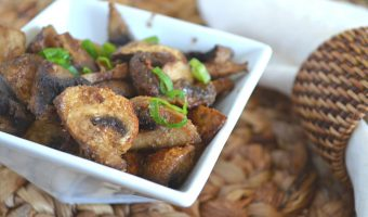 Healthy Air Fryer Mushrooms