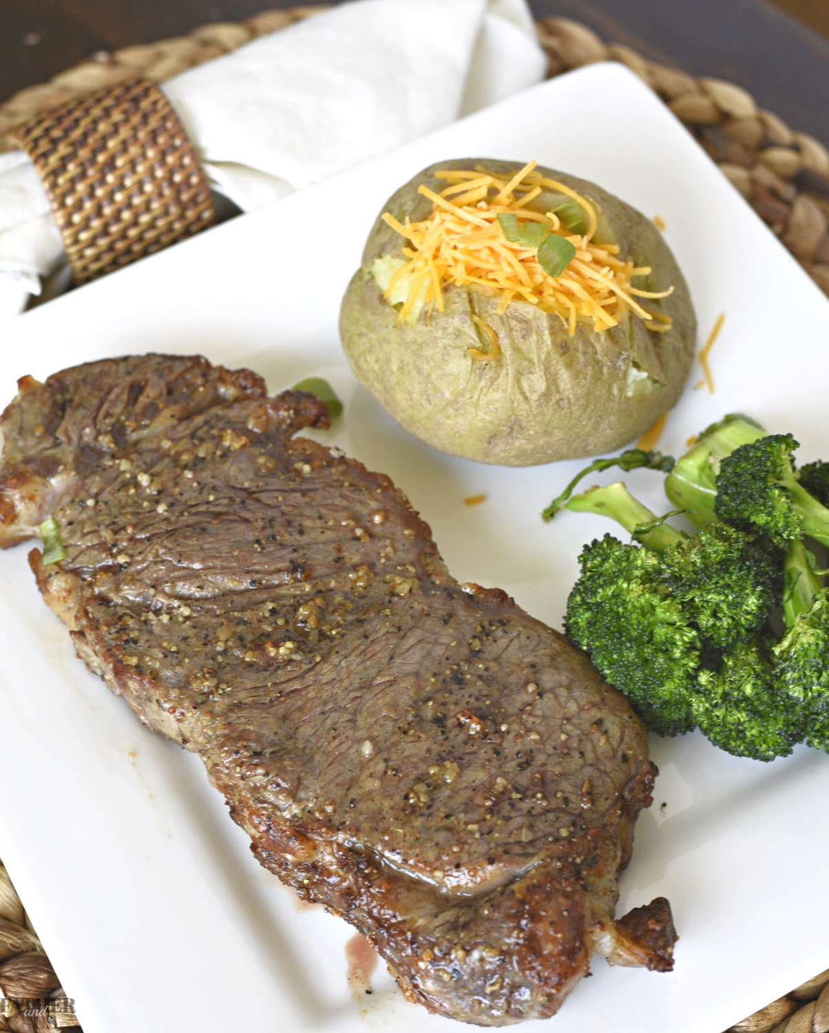 Air Fryer Steak is a great alternative to cooking them on a grill.