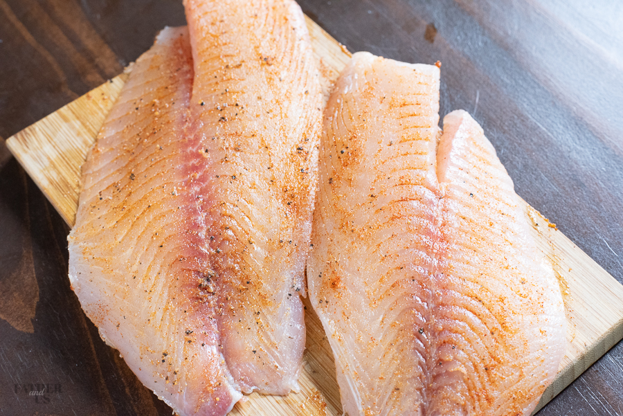 Air Fried TIlapia Instructions