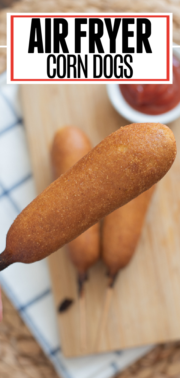 Air Fryer Corn Dogs Pin 1